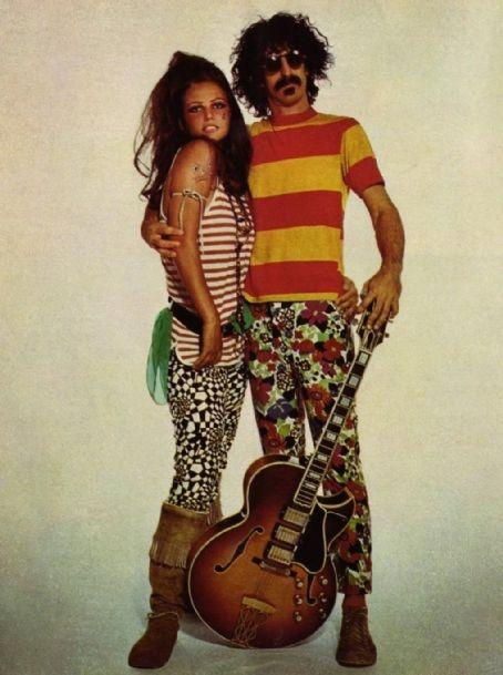 Frank Zappa + Claudia Cardinale