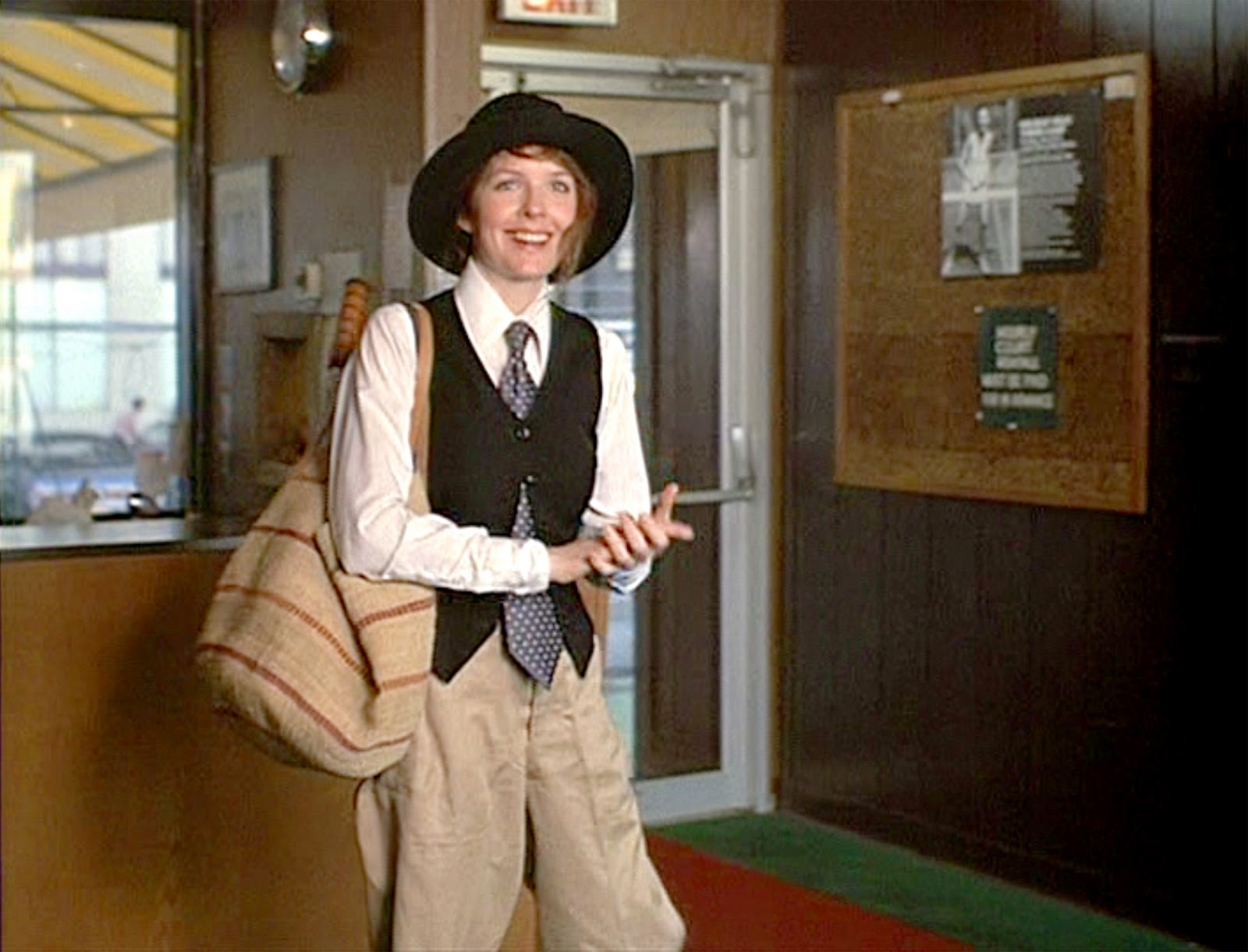 Diane Keaton as Annie Hall, 1977