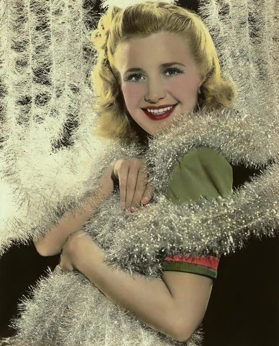 Priscilla Lane circa 1940's