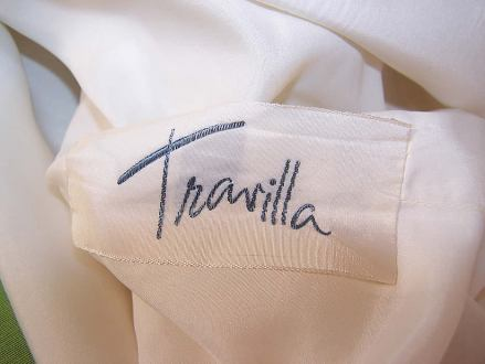 Travilla label via www.1860-1960.com