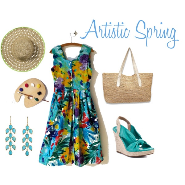 Artistic Spring on Polyvore created by vintspiration