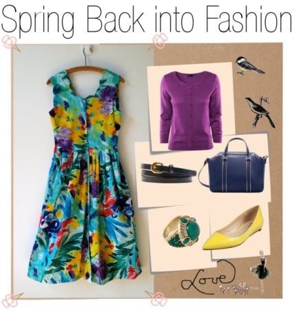 Fashion Find Friday: Spring Back into Action on Polyvore by cadian819