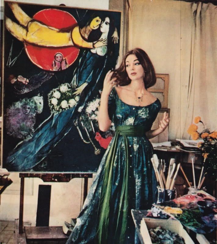 Claire McCardell and Marc Chagall