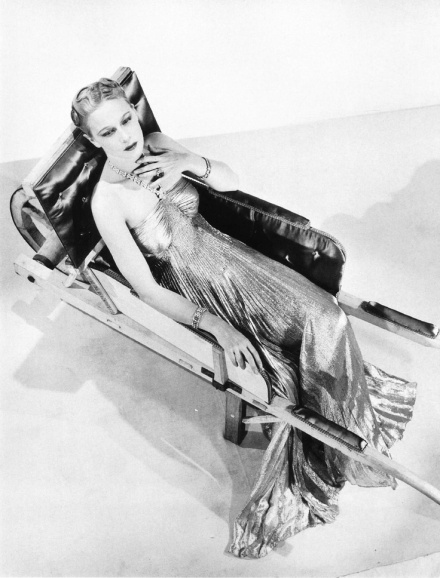 Man Ray: Dress of Madeleine Vionnet, wheelbarrow by Oscar Dominguez, 1937