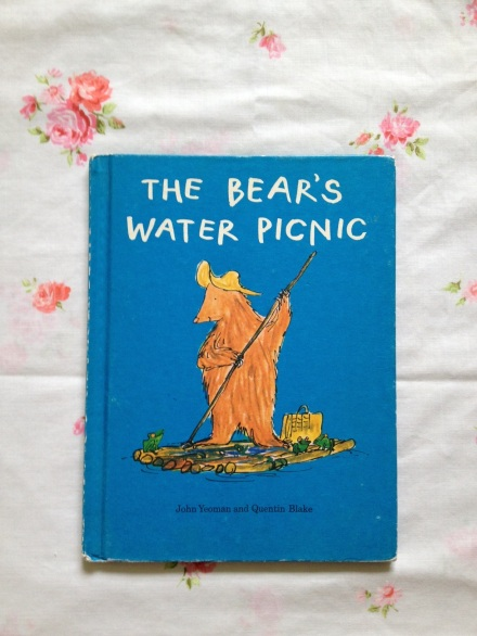 vintage book The Bear's Water Picnic by John Yeoman Quentin Blake 1970