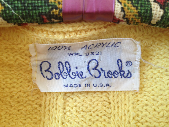 Bobbie Brooks label via Vintspiration
