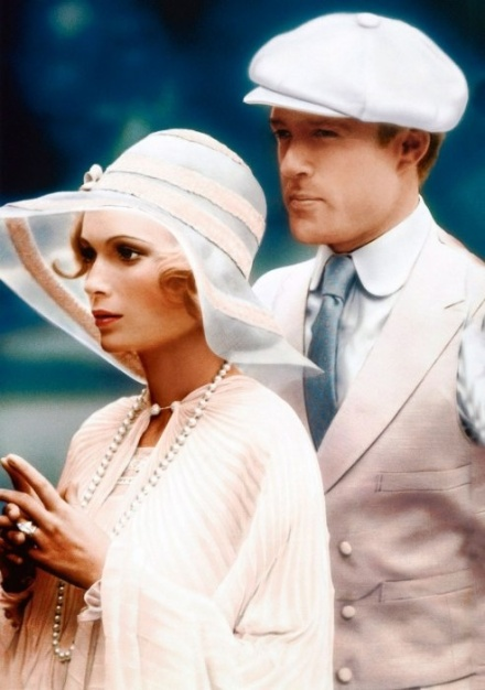 The Great Gatsby, 1974 Ralph Lauren designed male leads suits.