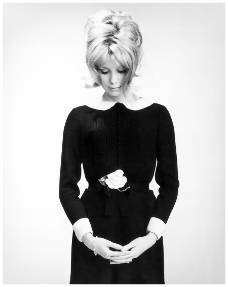 Catherine Deneuve. Photo: Walter Carone, 1963.