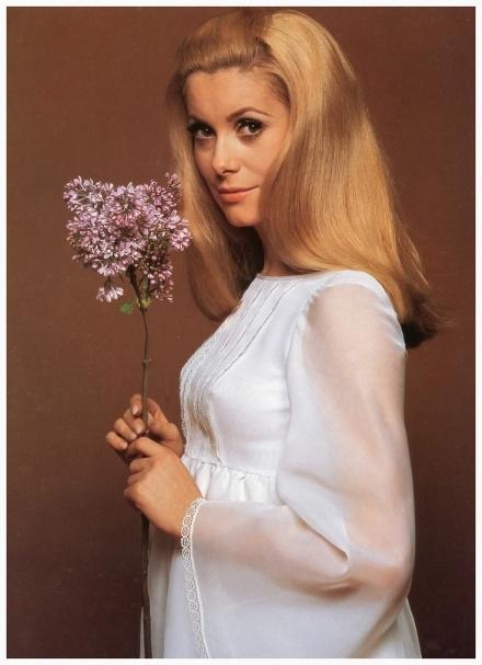 Catherine Deneuve. Photo: David Bailey, 1967.