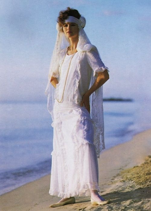 Laura Ashley Bridal circa 1987 via NIBS blog