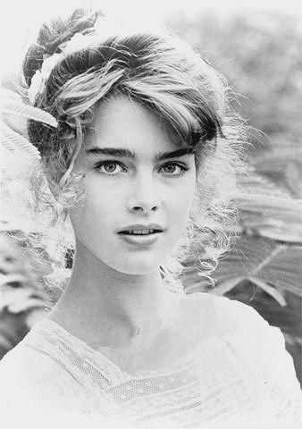 Brooke Shields circa 1980's.