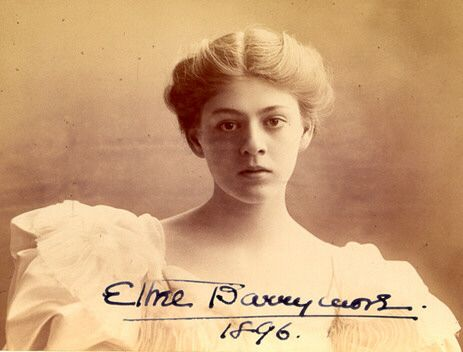 Ethel Barrymore circa 1896