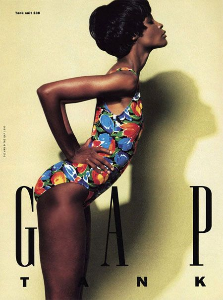 Naomi Sims for The Gap