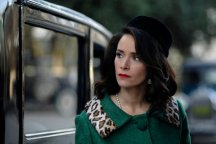 "TIMELESS -- ""Public Enemy No. 1"" Episode 114 -- Pictured: Abigail Spencer as Lucy Preston -- (Photo by: Sergei Bachlakov/NBC)"