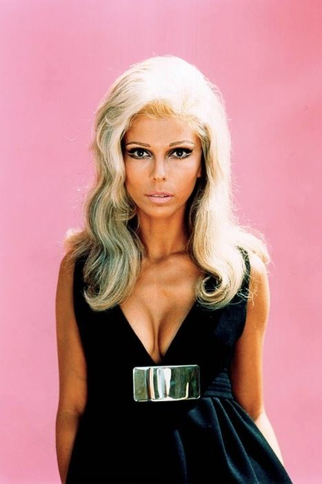 Nancy Sinatra Black Dress